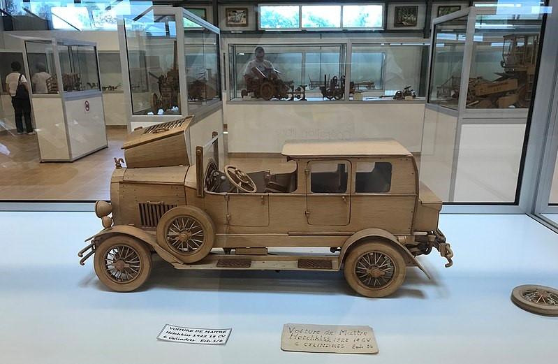 1922 Hotchkiss 18cv 6cyl Musée des maquettes à nourrir et courir le monde à Clairvaux-les-Lacs - 15