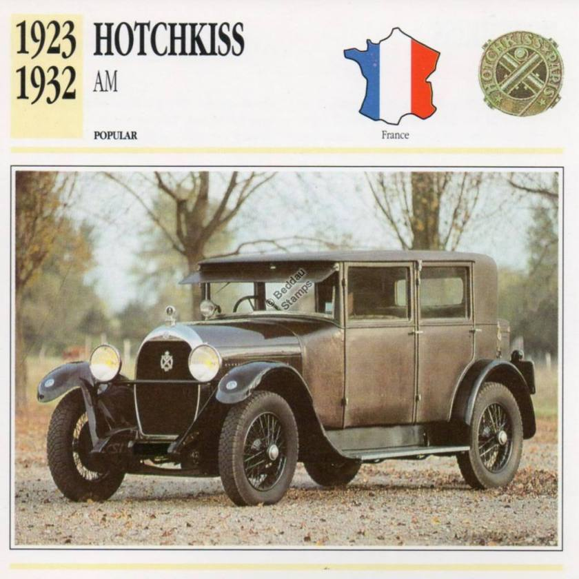 1923-1932 HOTCHKISS AM