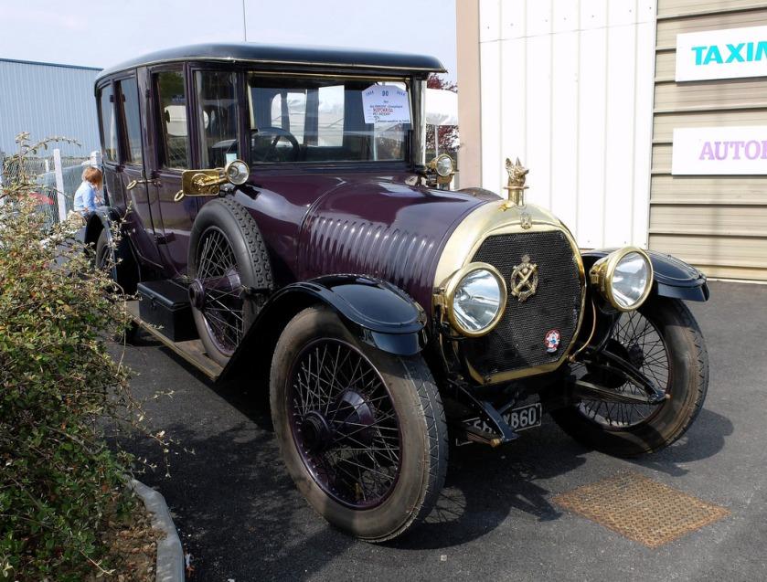 1924 HOTCHKISS AD 20 30HP