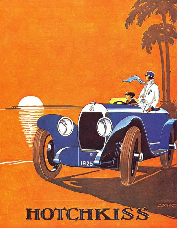 1925 Hotchkiss advertising