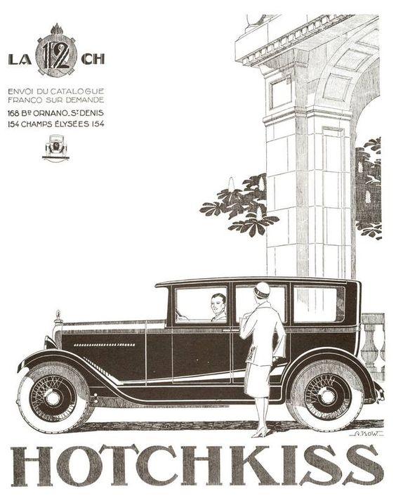 1926 Hotchkiss ad