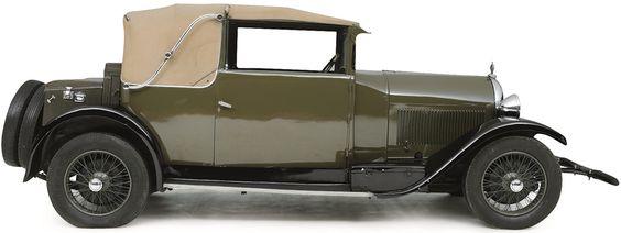 1928 HOTCHKISS AM 80 VETH CABRIOLET