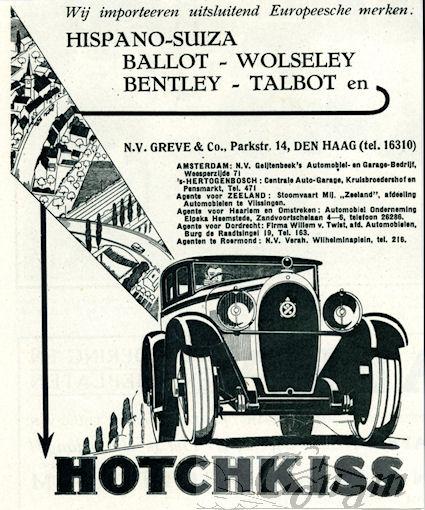 1928 hotchkiss greve
