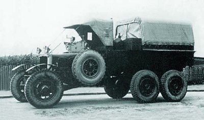 1928 Scammell Pioneer, 6x6