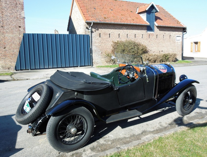 1929 HOTCHKISS AM 80 Tourer Weymann