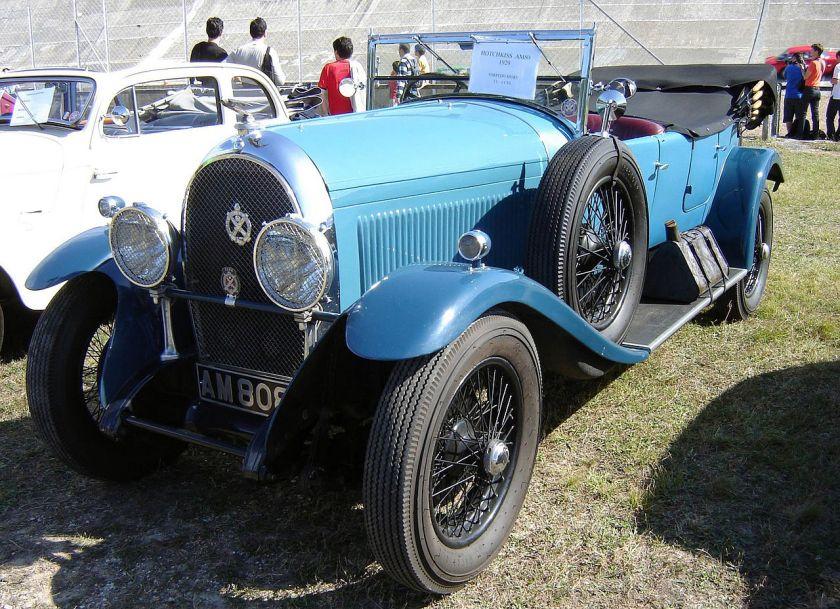 1929 Hotchkiss AM80 Torpedo Sport