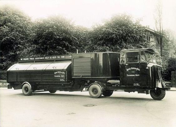 1930 Scammell - Royal Burgh of Ayr cleansing Dept