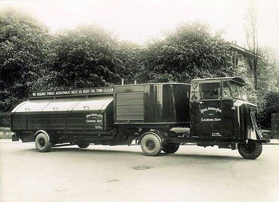 1930 Scammell - Royal Burgh of Ayr cleansing Dept