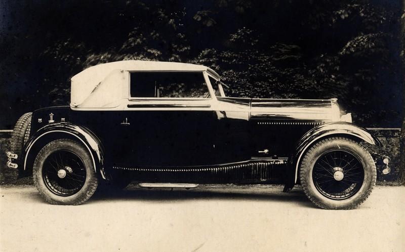 1931 Hotchkiss carrossée par Pourtout