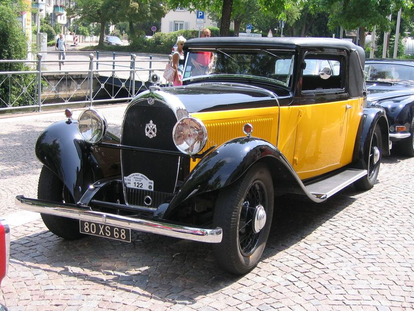 1932 E.M. Hotchkiss AM 80S
