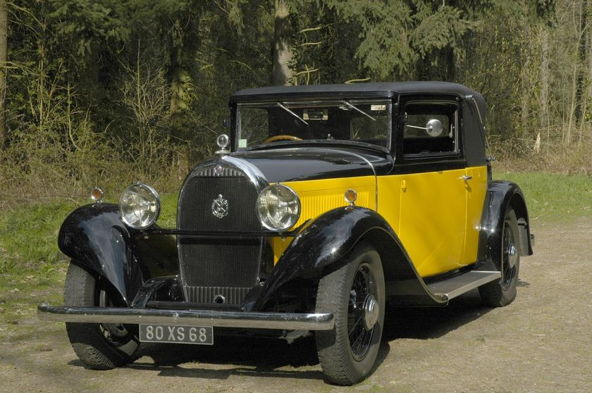 1932 Hotchkiss AM 80S b