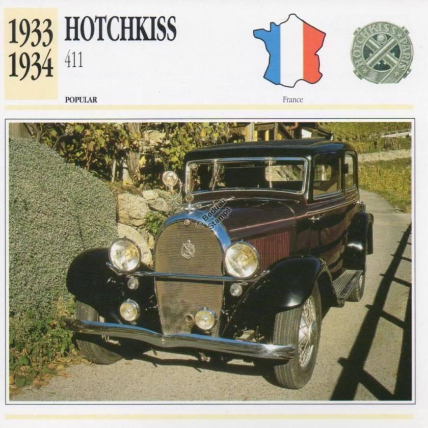 1933-1934 HOTCHKISS 411