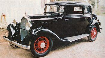 1933 Hotchkiss 1933 411 coach cote d'azur