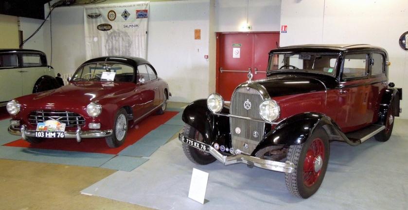 1933+1954 SALMSON 2300S (1954) et HOTCHKISS 412 (1933)
