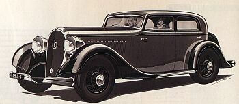 1934 Hotchkiss 1934 berline cabourg