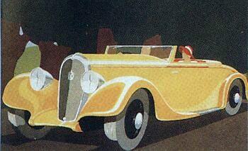 1934 Hotchkiss 1934 roadster hossegor