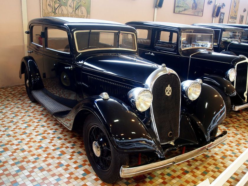 1934 Hotchkiss 411 at the Musée Automobile de Vendée pic-2