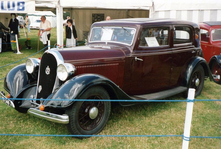 1934 Hotchkiss 413 Cabourg front left