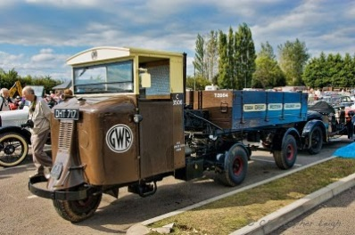 1934 Scammell produced the 3-wheeled 'Mechanical Horse