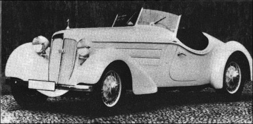 1935 Audi front 225 spezial roadster