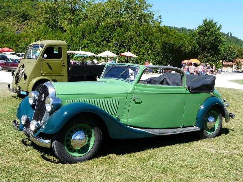 1935 Hotchkiss 600 Biarritz, Saint-Cybranet