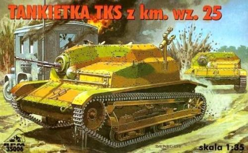 1935 TKS (W- HOTCHKISS MG) - WW II ARMOURED RECCE VEHICLE