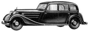 1936 Audi front sedan