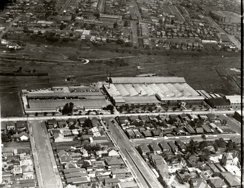1936 General Motors Holden Ltd Assembly Plant