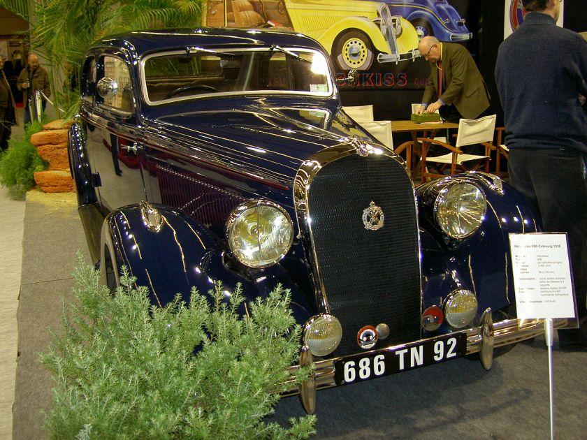 1936 Hotchkiss 686 Cabourg