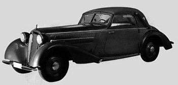 1937 Audi 225 special cabrio