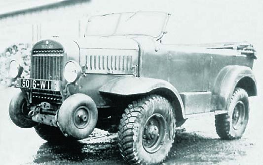1937 Hotchkiss L-480H, 4x4