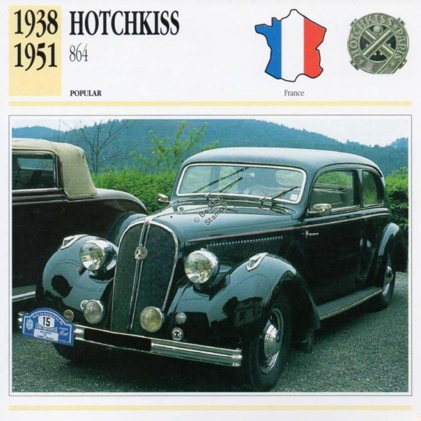 1938-1951 HOTCHKISS 864