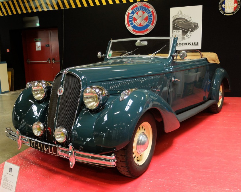 1938 HOTCHKISS 686 Cabriolet Biarritz