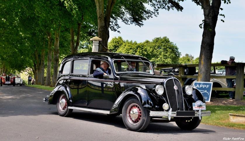 1938 HOTCHKISS 864 limousine Vichy fr