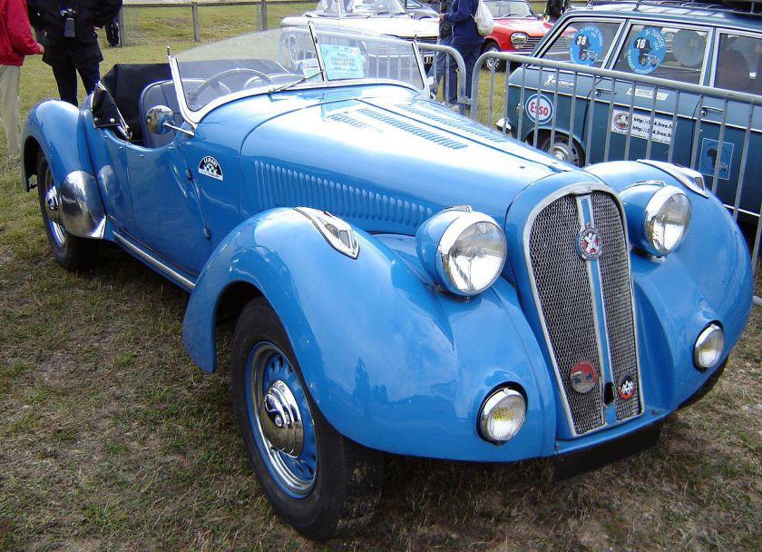 1938 Hotchkiss 864 Roadster Montlhéry 2