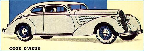 1938 Hotchkiss Cote Dázur adv