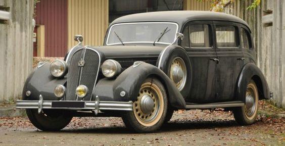 1939 Hotchkiss 686 Chantilly limousine