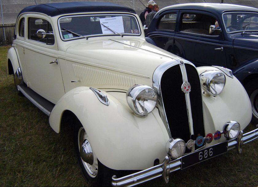 1939 Hotchkiss 686 Paris-Nice Monte-Carlo