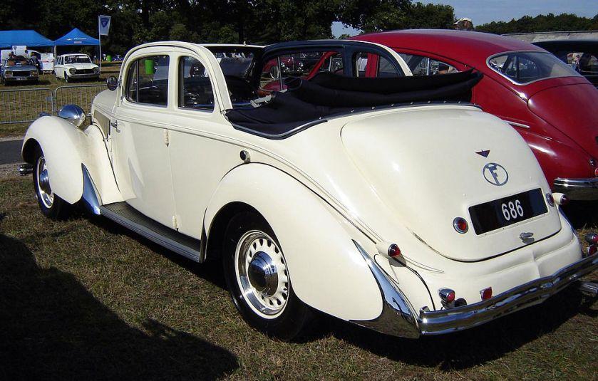 1939 Hotchkiss 686 PN Monte Carlo back