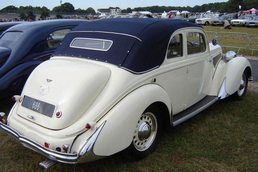 1939 Hotchkiss 686 PN (Paris-Nice) Monte Carlo