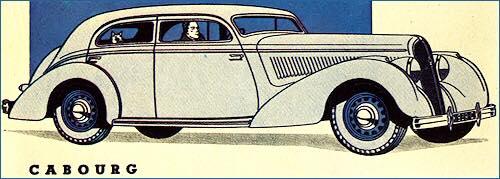 1939 Hotchkiss Cabourg adv