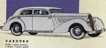 1939 Hotchkiss cabourg