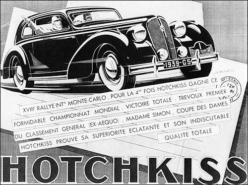 1939 Hotchkiss GS adv