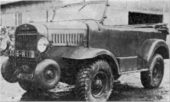 1939 Hotchkiss R15R Command & Reconnaissance 4x4