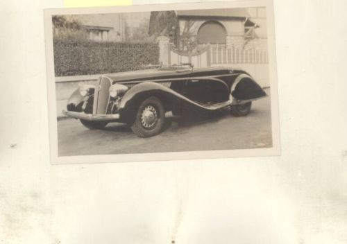1939 Hotchkiss Sport Cabriolet Factory Photograph wy9620