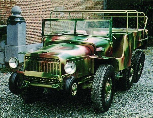 1939 Hotchkiss W-15Т, 6x6