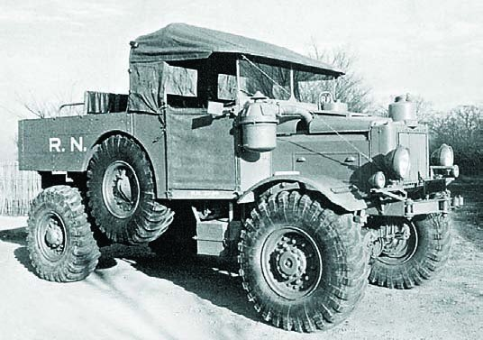 1939 Scammell Pioneer R100, 4x4