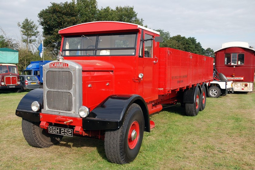 1939 Scammell Rigid 6, ex Post Office