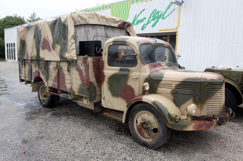 1940-1950 Hotchkiss truck PL20