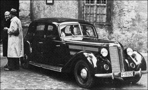1940 Audi 920 limousine